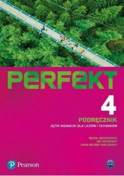 Perfekt 4 podręcznik + kod interaktywny PEARSON