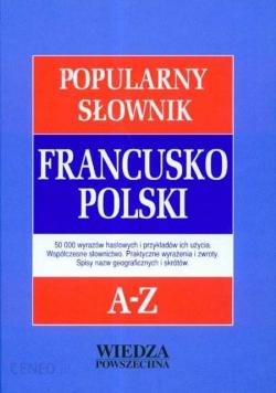 Popularny słownik polsko francuski, nowy