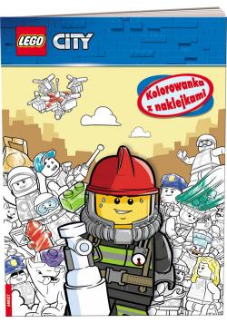 Lego City Kolorowanka z naklejkami