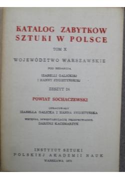 Katalog zabytków sztuki w Polsce Tom X Zeszyt 24