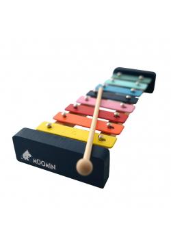 Drewniane Cymbałki Ksylofon Muminki