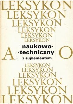 Leksykon naukowo techniczny od A do O