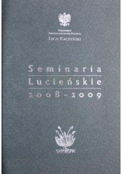 Seminaria Lucieńskie 2008 - 2009