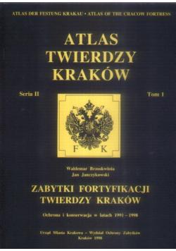 Atlas twierdzy Kraków Seria II Tom 1
