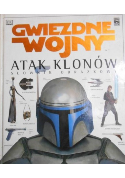Gwiezdne wojny atak klonów słownik obrazkowy