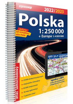 Polska atlas samochodowy 1:250 000