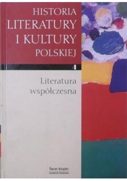 Historia literatury i kultury polskiej Tom 4 Literatura współczesna