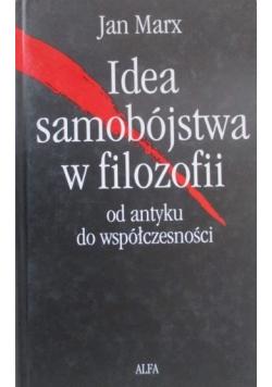 Idea samobójstwa w filozofii