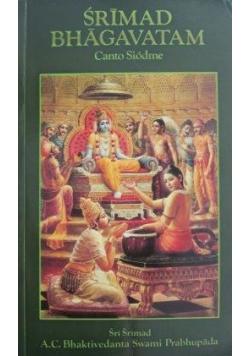 Srimad Bhagavatam canto siódme