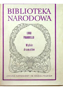 Pirandello Wybór dramatów