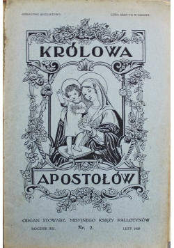 Królowa Apostołów Nr 2 1928 r