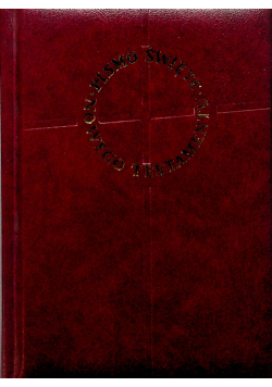 Pismo Święte Nowego Testamentu w przekładzie języka greckiego