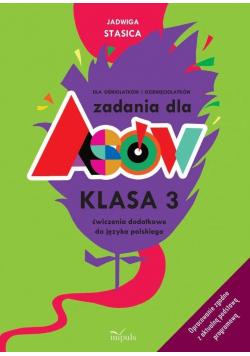 Zadania dla asów. Klasa 3 Język polski w.2