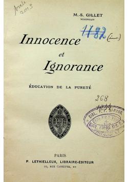 Innocence et Ignorance 1912 r.