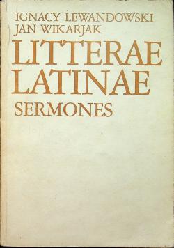 Litterae Latinae Sermons