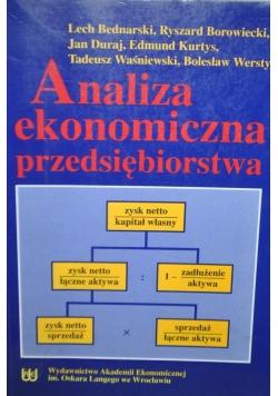 Analiza ekonomiczna przedsiębiorstwa