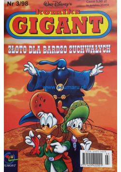 Komiks Gigant Złoto dla bardzo zuchwałych