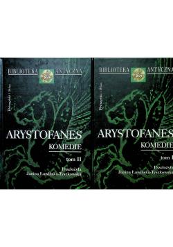 Arystofanes Komedie 2 tomy