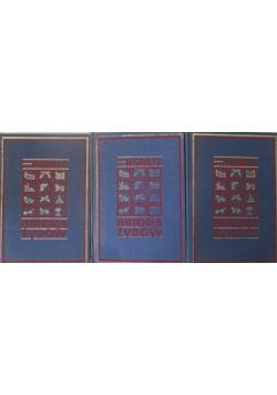Historia Żydów 3 tomy Reprinty z 1929 r