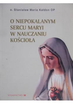 O niepokalanym sercu Maryi w nauczaniu Kościoła