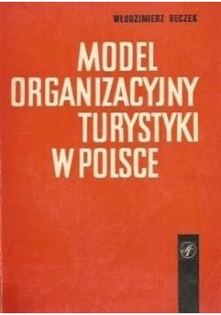 Model organizacyjny turystyki w Polsce