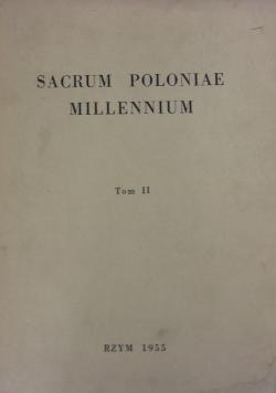 Sacrum Poloniae Millennium tom II