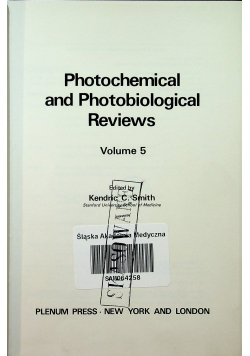 Photochemical and photobiological Reviews