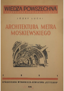 Architektura metra Moskiewskiego