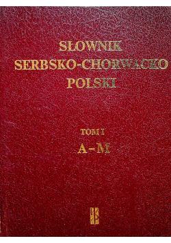Słownik serbsko-chorwacko polski Tom I