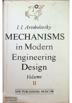 Mechanism in modern engineering design volume II