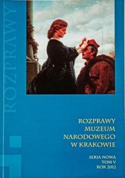 Rozprawy Muzeum Narodowego w Krakowie T.5