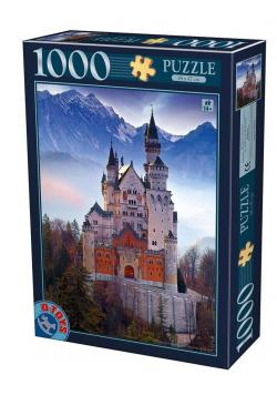 Puzzle 1000 Niemcy, Zamek Neuschwanstein