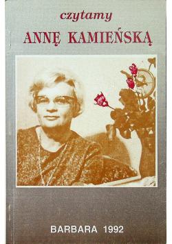 Czytamy Annę Kamieńską