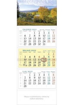Kalendarz 2022 trójdzielny KT 09 Jesień