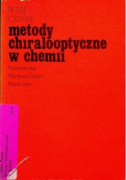 Metody chiralooptyczne w chemii