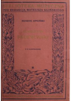 Ignacy Jan Paderewski 1928 r