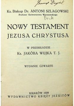 Nowy Testament Jezusa Chrystusa 1928 r