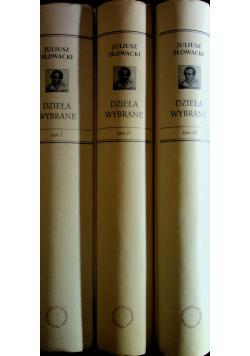 Słowacki Dzieła wybrane 3 tomy