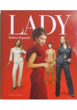 Lady Kobieta elegancka