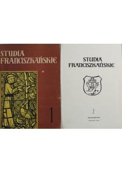 Studia Franciszkańskie 2 tomy