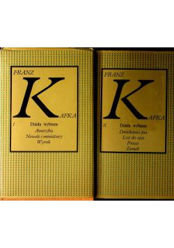 Kafka Dzieła wybrane Tom 1 i 2