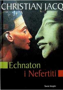 Echnaton i Nefertiti