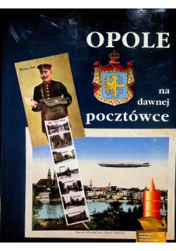 Opole na dawnej pocztówce
