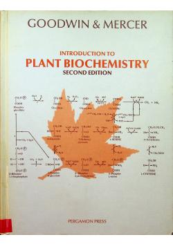 Introduction to Plant Biochemistry