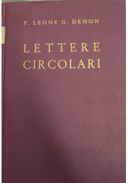 Lettere Circolari