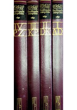 Encyklopedia staropolska Tom I do IV