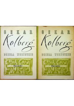 Kolberg Dzieła wszystkie Tom 3 i 4