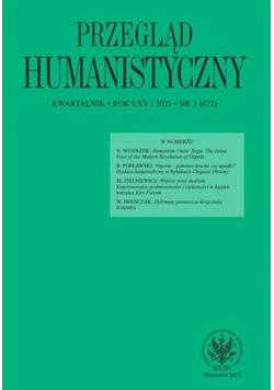 Przegląd Humanistyczny 2021/01