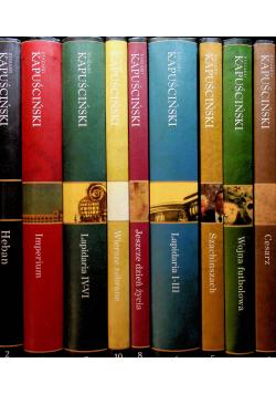 Kapuściński Dzieła wybrane 9 tomów