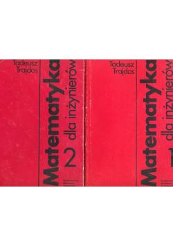 Matematyka dla inżynierów 2 tomy